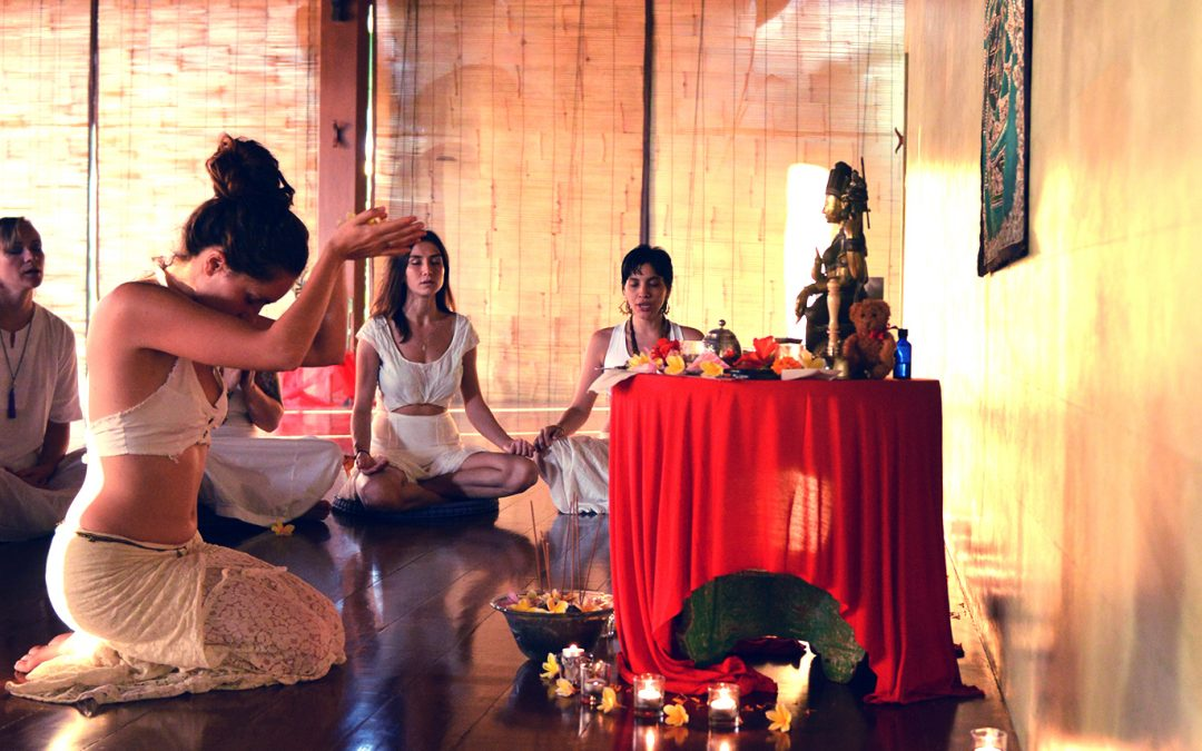 6 STEPS OF THE YONI PUJA